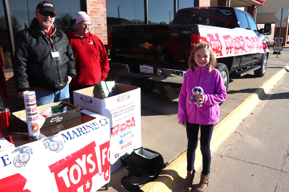 Toys For Tots sign-ups are next week in Floyd County