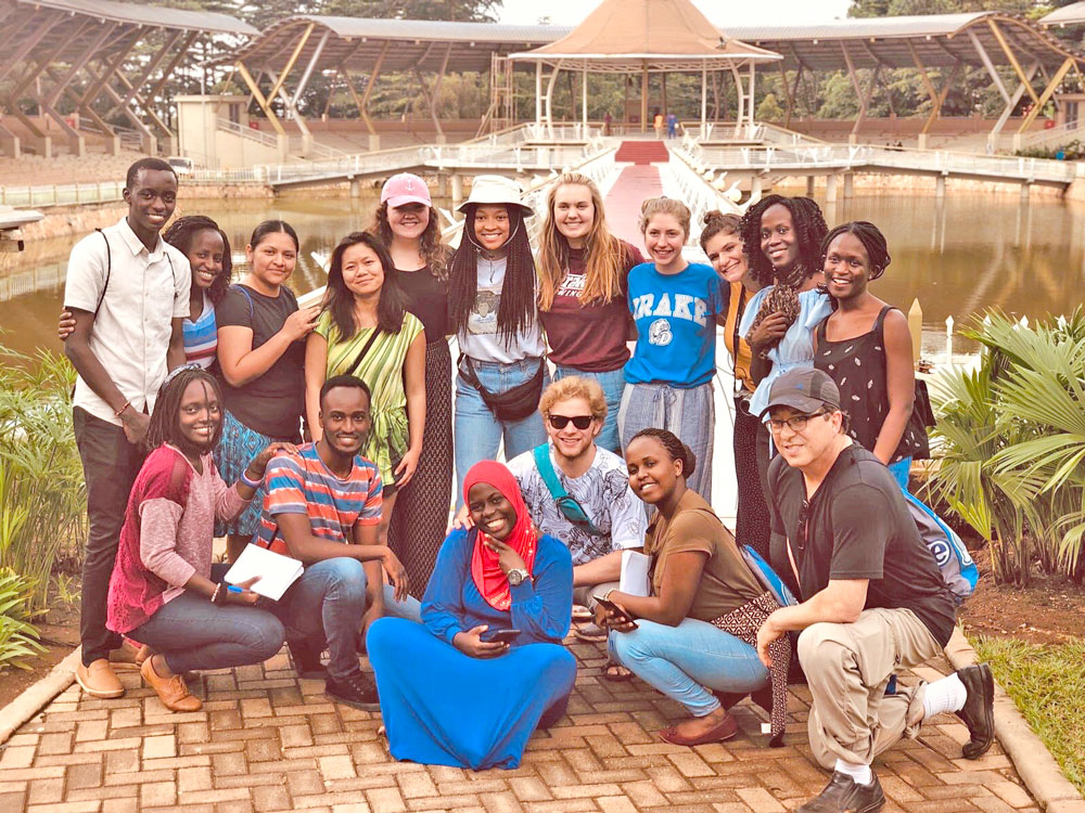 Drake student's trip to Africa a life-changing experience