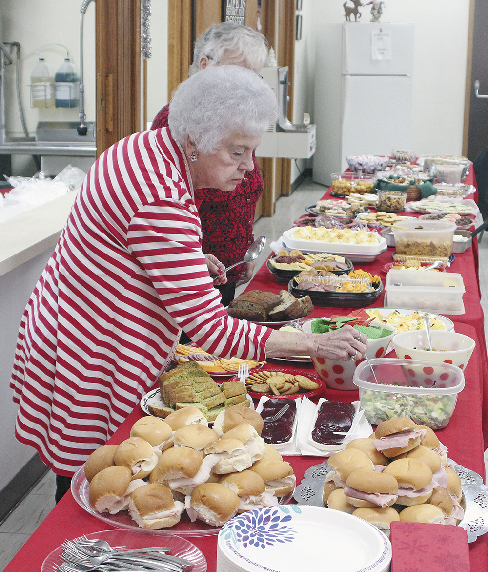 Christmas celebration at the Senior Center